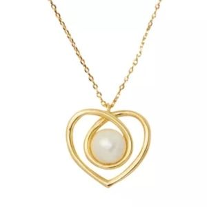 Kate Spade Infinity Heart Necklace